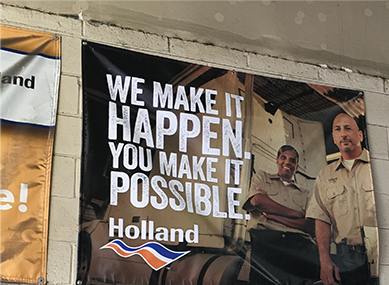 Holland Campaign Print